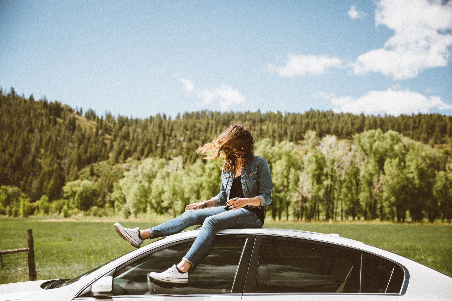 girl, road trip, adventure, explore