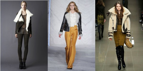Aviator Jackets on the runway at Philip Lim, Burberry, and Doo.ri
