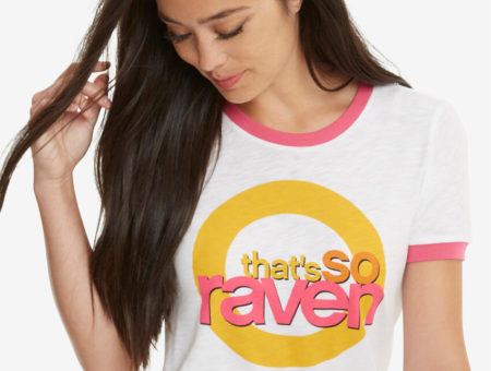 Women's That's So Raven ringer t-shirt. Also comes in plus size.