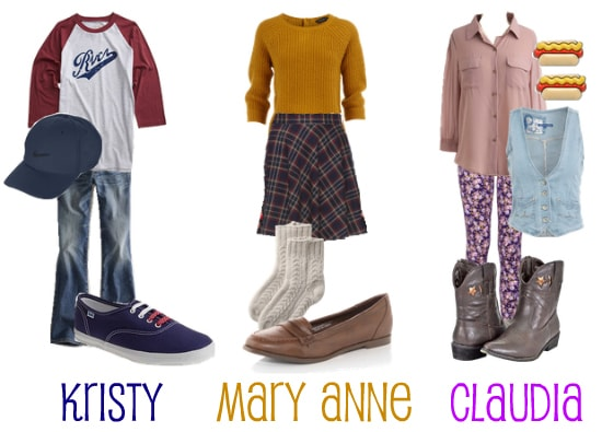 Babysitters Club Inspired Halloween Group Costume