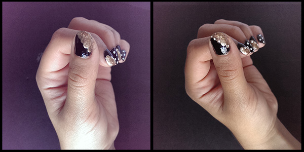 Back to class nail tutorial part 2
