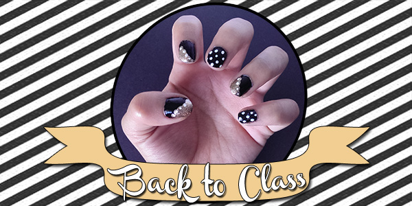 Back to class nail tutorial