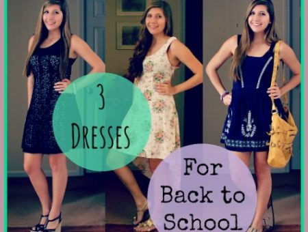 Back to school dress outfits