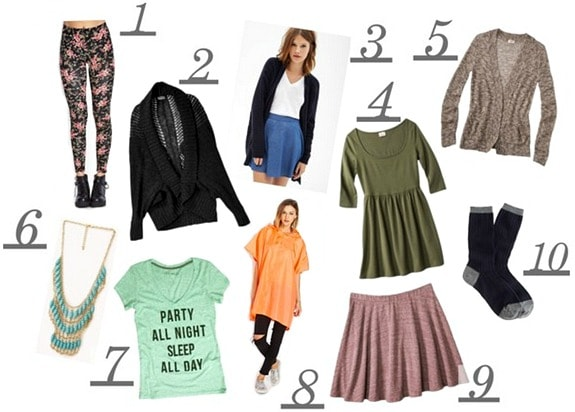 Back to school fashion finds under 10