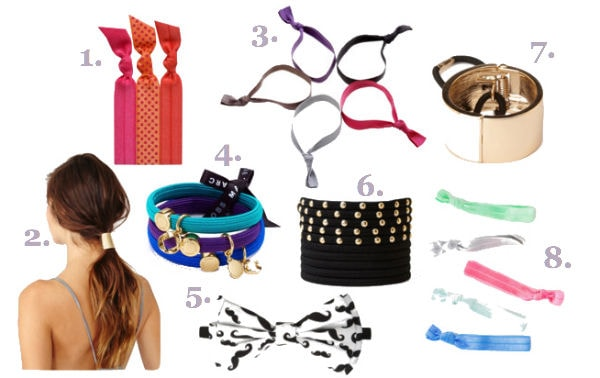 Back to school hair accessories