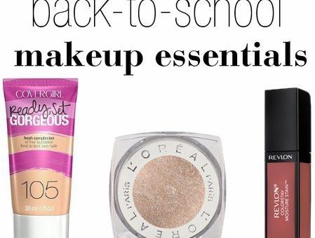Back to school makeup essentials