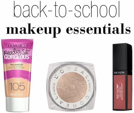 Back to school makeup essentials