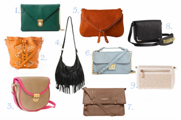 Back to school must have crossbody bags