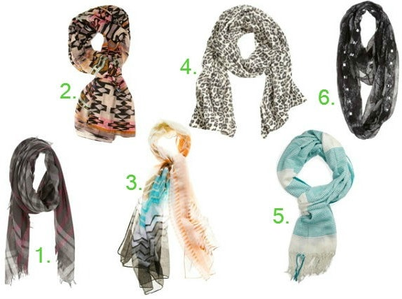 Back to school must have scarves