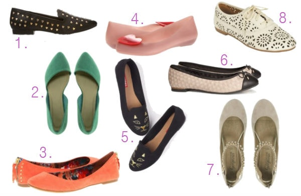 Back to school shopping guide flats