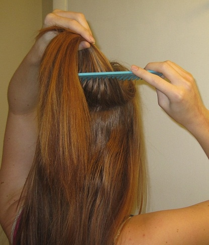 Image of Teasing/Back Combing