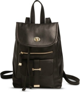 Black Backpack Purse from Target