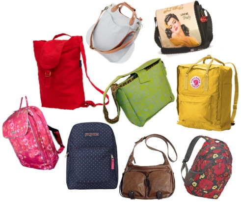 Laptop backpacks and messenger bags