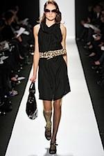 Badgley Mischka Dress - Cinched Waist - Fall 2008 Fashion