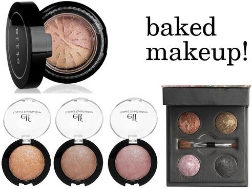 Baked makeup