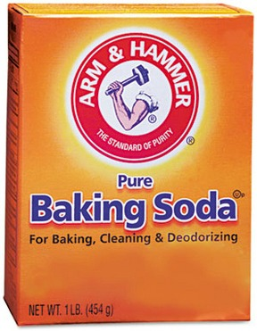 Baking soda teeth whitening