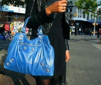Balenciaga bag student style
