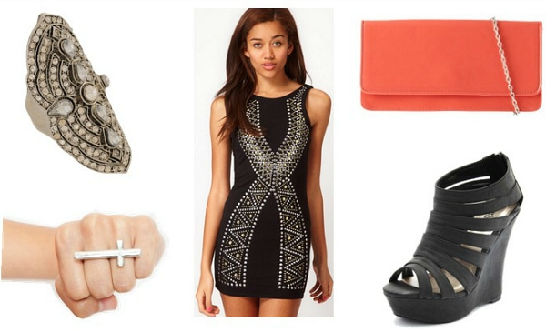 Balmain Spring 2012 Inspired Outfit 2