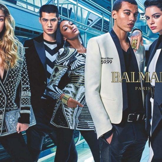 Balmain x H&M Ad Campaign image