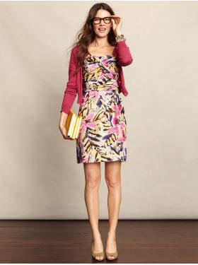 Banana Republic Pink Dress Model