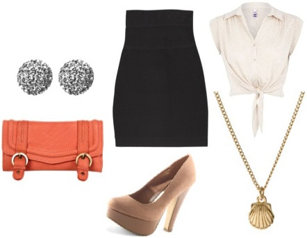 Bar and Lounge look: Outfit for a date at a club, bar, or lounge