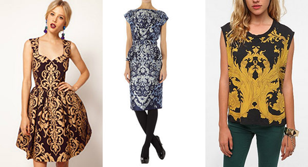 Cute baroque print pieces for fall