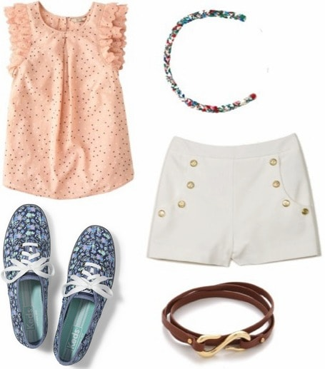 Baseball game summer outfit