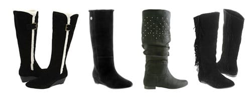 Basic Black Suede Boots