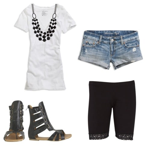 Basic Tee Shirt Outfit