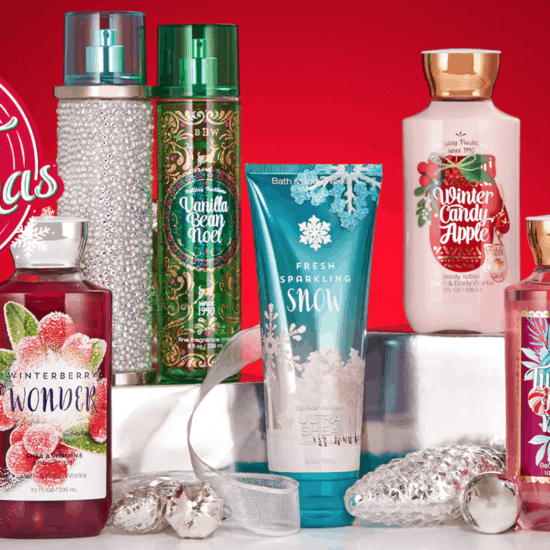 Bath and Body Works Holiday 2016 products