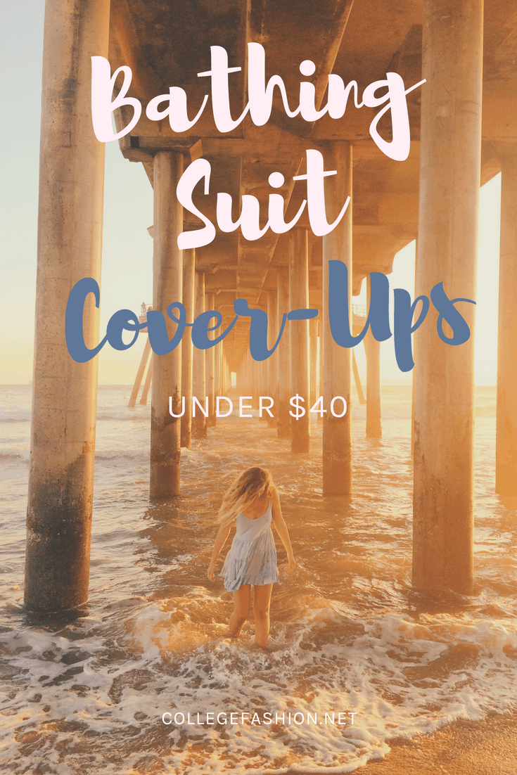 Cute bathing suit cover ups under  -- swimsuit cover ups on a budget