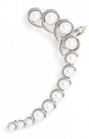 Baublebar pearl ear cuff