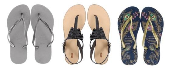 Cute sandals for the beach