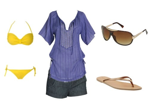 Beachside outfit