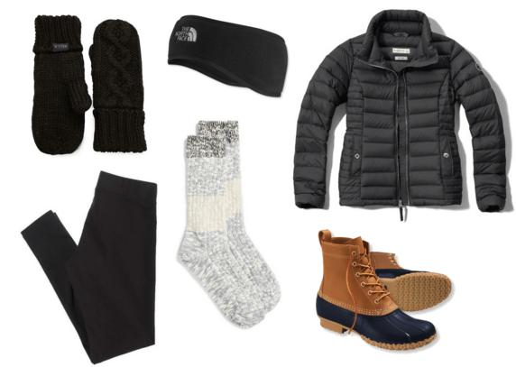 Cold Weather Bean Boot Outifit