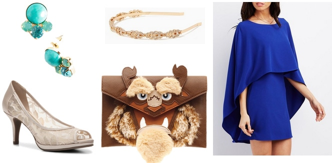 Beauty and the Beast clutch outfit
