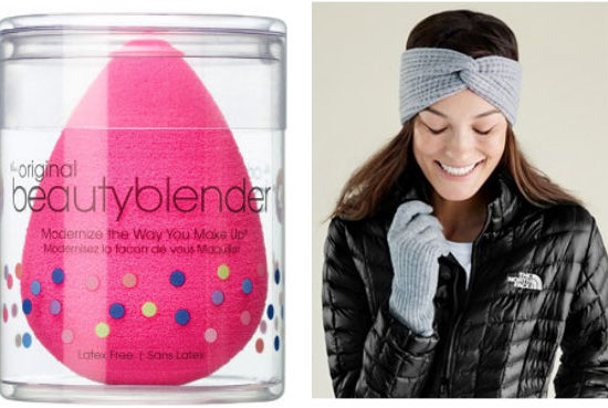Beauty Blender and head wrap