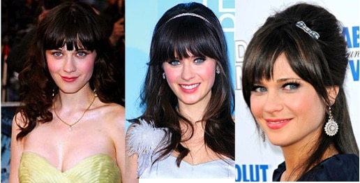 Zooey Deschanel beauty tips