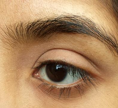 Basic Eye Makeup Tutorial Step 1