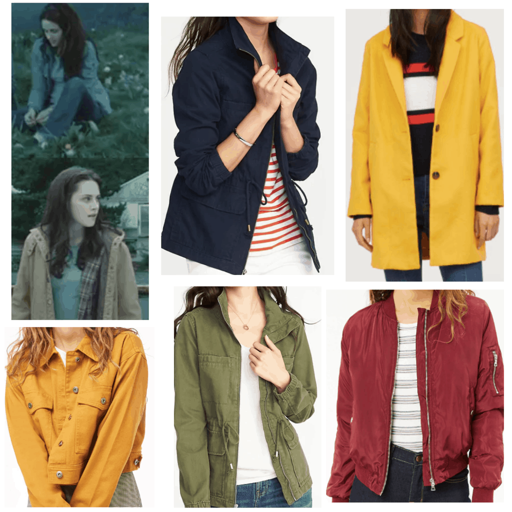 coats that bella swan would wear