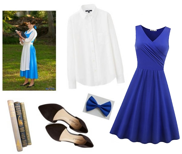 Last-minute costume ideas: Belle from Beauty and the Beast