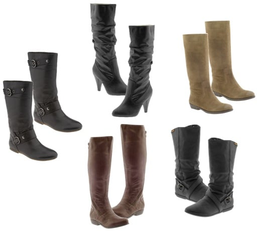 Cute knee high boots for fall