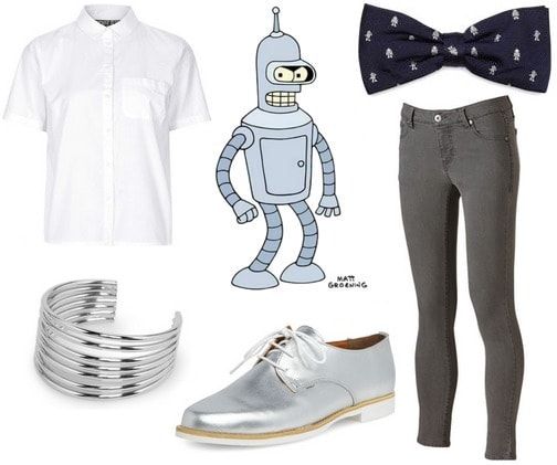 Bender Futurama inspired outfit