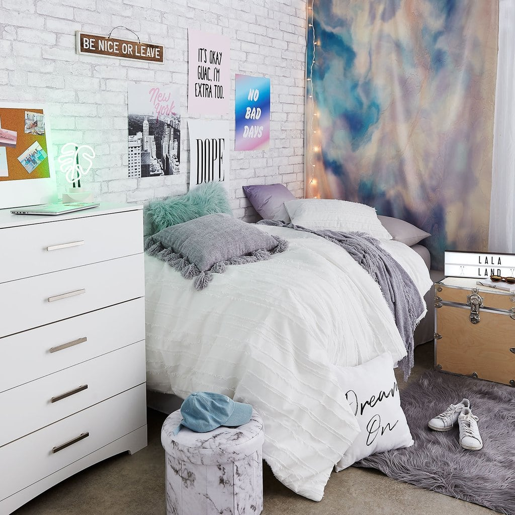 dorm design     budget college fashion