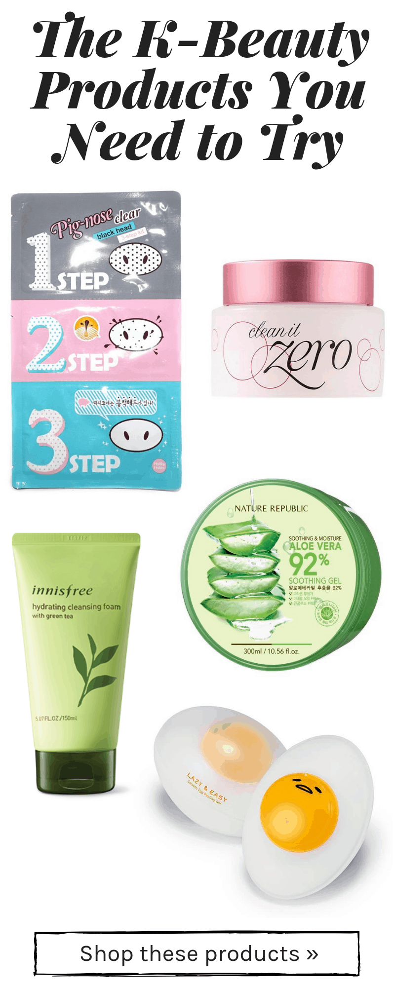5 Affordable Korean Skincare Products You Need to Try - College Fashion