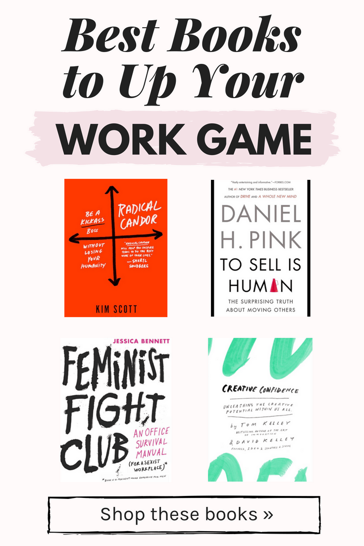 Best books to up your work game: Learn how to be a boss with these work books for women