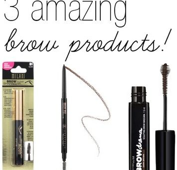 Best eyebrow beauty products