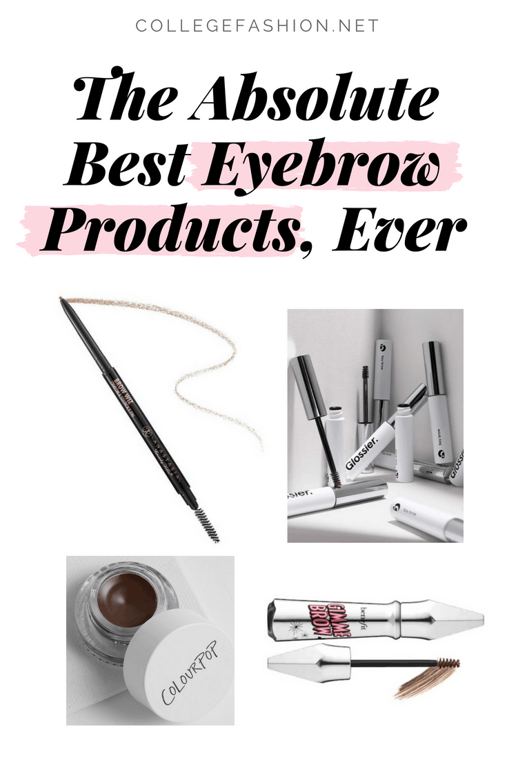 Best eyebrow products ever -- these are the best eyebrow pencils, brow pomades, brow gels, and more
