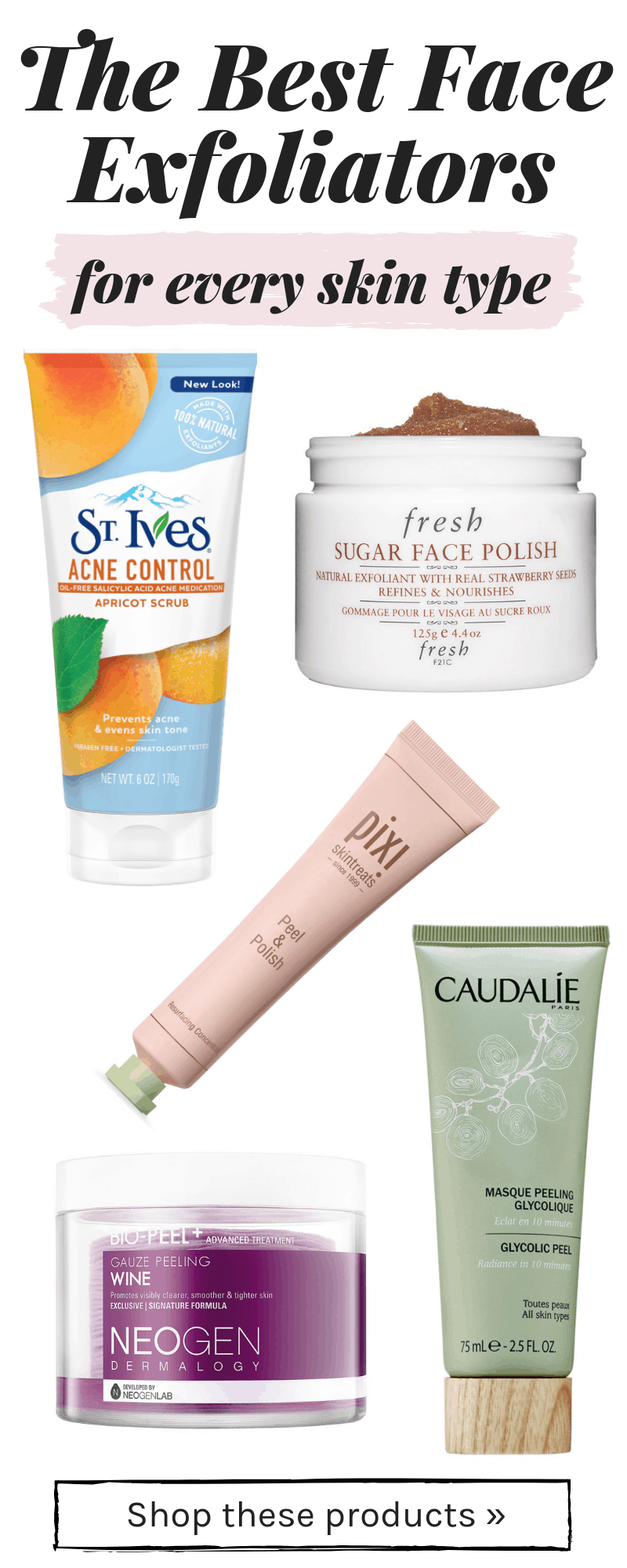 The Best Face Exfoliators For Every Skin Type College Fashion