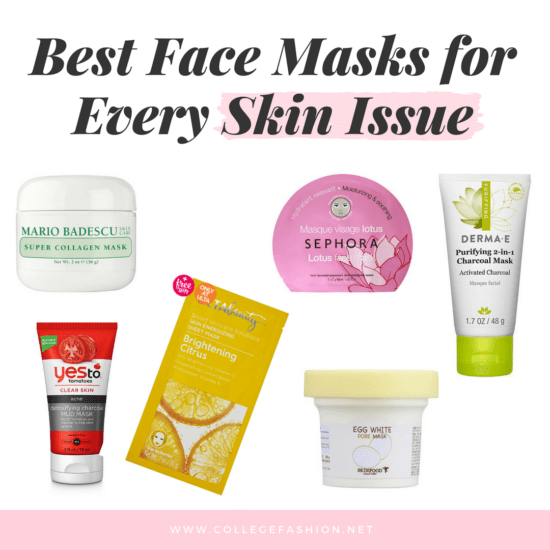 Best face masks for every skin issue: Dry skin, anti aging, oily skin, large pores, dull skin, acne